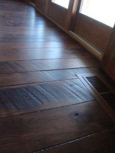 Balsam Wide Plank [Skip Sawn Hickory Floor and Hickory Vent]