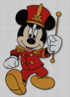 Mickey Mouse Band Leader Crochet Pattern
