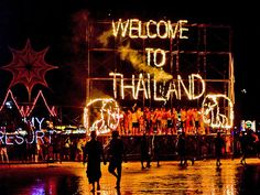 100 Trips to Take in Your Lifetime: Dance until sunrise at the all-night Full Moon Party on the island of Ko Pha Ngan, Thailand.    I've got several more to go!