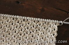 St. John's Wort is a gorgeous traditional lace knitting stitch that is easy and fun to knit up, perfect for shawls and other lacy items! Abbreviations: k = knit p = purl sl = slip a stitch without working it from the left needle to the right one psso = pass the slipped stitch over…