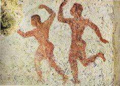 Dancers, Tomb of the Bacchants, Tarquinia, ~510 B.C.
