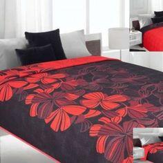 Obojstranný čierno - červený prehoz na posteľ Comforters, Blanket, Bed, Home, Design, Creature Comforts, Quilts, Stream Bed, Ad Home