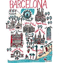 The distinct and dramatic architecture of Gaudi gives Barcelona its unique character, which attracts Art Nouveau fans around the world, including me! I first came to Barcelona as an art student almost thirty years ago and remember exploring the bizarre and beautiful structures of Gaudi...