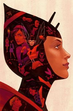 """All New, All Different Marvel #7 variant cover - Wasp by Evan """"Doc"""" Shaner *"""