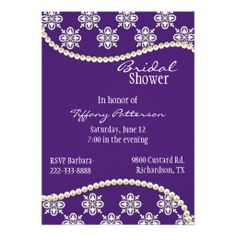 >>>Are you looking for          Stylish Purple and Pearls Bridal Shower Invitation           Stylish Purple and Pearls Bridal Shower Invitation today price drop and special promotion. Get The best buyReview          Stylish Purple and Pearls Bridal Shower Invitation Here a great deal...Cleck Hot Deals >>> http://www.zazzle.com/stylish_purple_and_pearls_bridal_shower_invitation-161169504800891169?rf=238627982471231924&zbar=1&tc=terrest