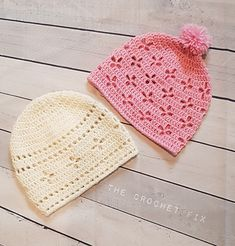 Ravelry: Vintage Vibes Beanie pattern by The Crochet Fix Christmas Knitting Patterns, Crochet Patterns, Hat Patterns, Crochet Beanie, Crochet Hats, Beanie Pattern, Paintbox Yarn, Red Heart Yarn, Yarn Brands