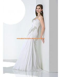 2013 Elegante Brautmode aus Chiffon im Meerjungfrauenstil