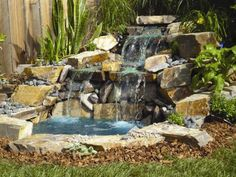 Pond & Waterfall in a Box® Complete kit including all rock