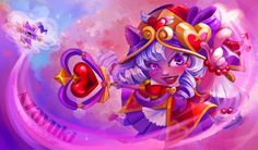 "azayuki-art: "" Lulu Heartseeker I love Lulu from league of Legends and the aesthetic of the heartseekers skins so I tried to make a design. This has took me a lot of hours and effort and still I see mistakes, but I hope you like it! """