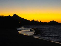 Burnished evening in Carriacou