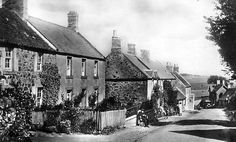 Old Photograph Auchencrow Scotland
