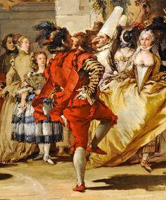 Regilla ⚜ A Dance in the Country - Giovanni Domenico Tiepolo, ca. 1755
