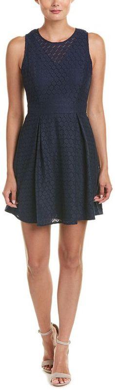 BCBGeneration Honeycomb A-Line Dress
