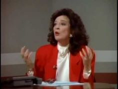 Julia 'loses it' over conservative issues, Designing Women. funny after all these year the fighting is still the same.