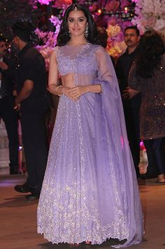 Akash Ambani's engagement bash: Shah Rukh Khan, Shahid Kapoor, Aishwarya Rai and Alia Bhatt make it a starry affair Party Wear Indian Dresses, Indian Bridal Outfits, Indian Fashion Dresses, Indian Bridal Wear, Dress Indian Style, Indian Designer Outfits, Pakistani Dresses, Bridal Dresses, Indian Wear