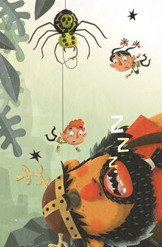 Organic Artwork and Illustrations by Steve Simpson Creative Illustration, Children's Book Illustration, Mythology Books, Irish Mythology, Whimsical Art, Illustrations Posters, Character Design, Character Inspiration, Childrens Books