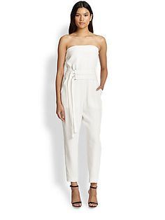 Elizabeth and James Carlisle Double-Belted Jumpsuit