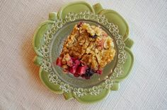 Mennonite Girls Can Cook: Rhubberry Crisp