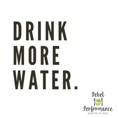 DRINK MORE WATER. Easier said than done I know. If we don't stay hydrated, physical performance can suffer. Drink More Water, Stay Hydrated, Nutrition Information, Infographics, Did You Know, Physics, Drinks, Fitness, Drinking