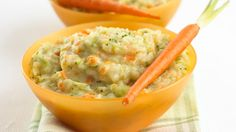 Cheesy Mash with Carrot and Broccoli by Annabel Karmel