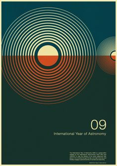 Gavin Rothery - Directing - Concept - VFX - Gavin Rothery Blog - International Year Of Astronomy Posters By Simon CPage
