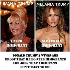 Donald Trump Frauen Immigranten