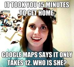 Overly attached girlfriend - www.meme-lol.com