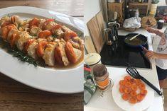 Aux Bulles Blog Sommerrezepte - les abricots Shrimp, Meat, Blog, Bubbles, Food And Drinks, Food Food, Blogging