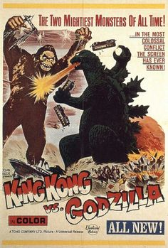 King Kong vs Gojira- one of our favs