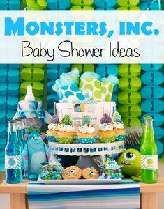 Monsters Inc Baby Shower Ideas - PinkDucky.com