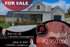 DUAL MANDATE - See virtual tour Become the proud owner of this meticulously well planned and spacious home in the beautiful Stanhaven gated estate with endless views of the fields, vineyards and mountains. The exceptional open plan living design includes high pitched ceilings and aluminum stack doors opening onto the wrap around covered patio with built in braai. #CCH #stanford #overberg #2bedroom #stanfordhomes #homesforsale #stanfordproperties #propertiesforsale #propertyforsale Built In Braai, 2 Bedroom House, Open Plan Living, Coastal Homes, Virtual Tour, Property For Sale, Trip Advisor, Mountains, Cape Town