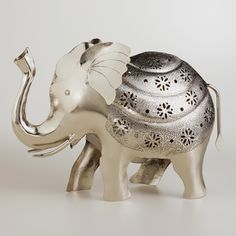 Elephant Tealight Candleholder | World Market