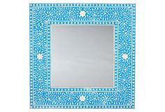 "Sapphire 39"" Bone Inlay Mirror on OneKingsLane.com. Pricey, but so pretty!"