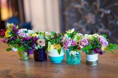 New use for cute but used candle jars DIY nakedbouquet.com / Kiana Underwood