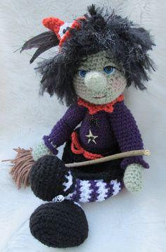 Patrón de bruja por Teri equipos lana y caprichos por TCrewsDesigns