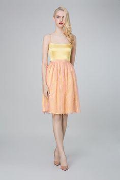 SADONI evening dress ZOLA with lace skirt ZAN