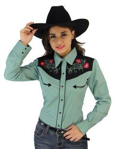 Camisa vaquera Poulette