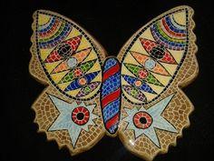 Ceramic Butterfly-mosaic pattern