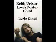 ▶ Love's Poster Child- Keith Urban (Audio/Lyrics) - YouTube