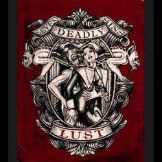 Lust, Print by Se7en Deadly - SBTT