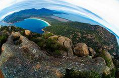 Wineglass bay on the East Coast of Tassie.