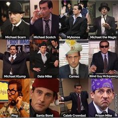 All the Michels in one pin - Memes And Humor 2020 Best Of The Office, The Office Show, Date Mike The Office, Really Funny Memes, Stupid Funny Memes, Hilarious, Top Funny, Best Tv Shows, Best Shows Ever