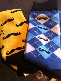 Men's socks (with flair).