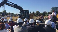 "#MLS  Sacramento Republic FC prepare stadium site with ""ground-making"" event"