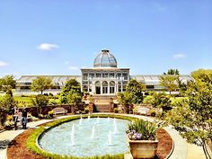 Lewis Ginter Botanical Garden Richmond, VA Wedding Site Virginia Garden Weddings 23228