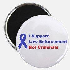 support law enforcement Magnet for