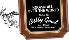 """If you're old enough to remember """"Cheezborger! Cheezborger! No fries, cheeps! No Pepsi, Coke!"""" from Saturday Night Live, then you will enjoy watching your kids order food at the Billy Goat Tavern. It's underground, so this is a great place to eat with your older kids."""