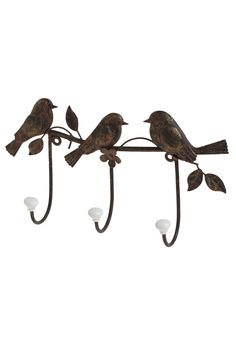 Tree Little Birdies Wall Hook [@Cassia Esh - thought you might like this too! :) ]