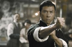 """Kung fu superstar Donnie Yen plays Wing Chun master Ip Man in the namesake film """"Ip Man."""" Description from lifeofguangzhou.com. I searched for this on bing.com/images"""