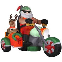 Harley Davidson Motorcycle Christmas Ornaments | WebNuggetz.com